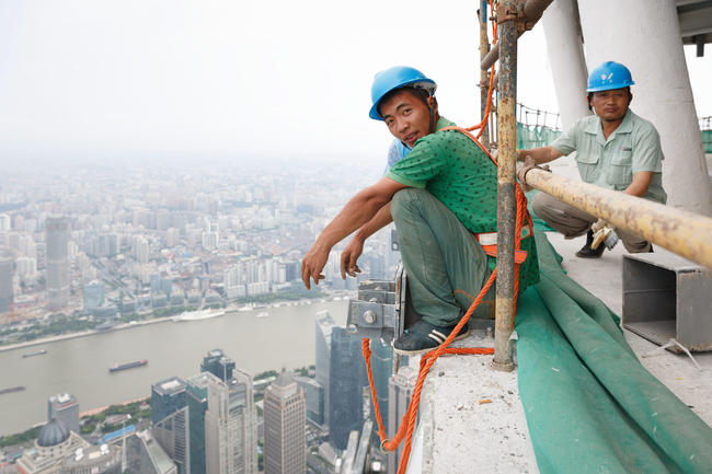 Shanghai Tower: the fabric and faces behind China's tallest building