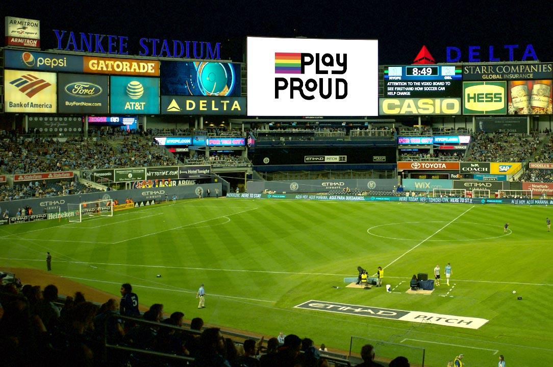 Case study: Play Proud – <br> sport as a safe place
