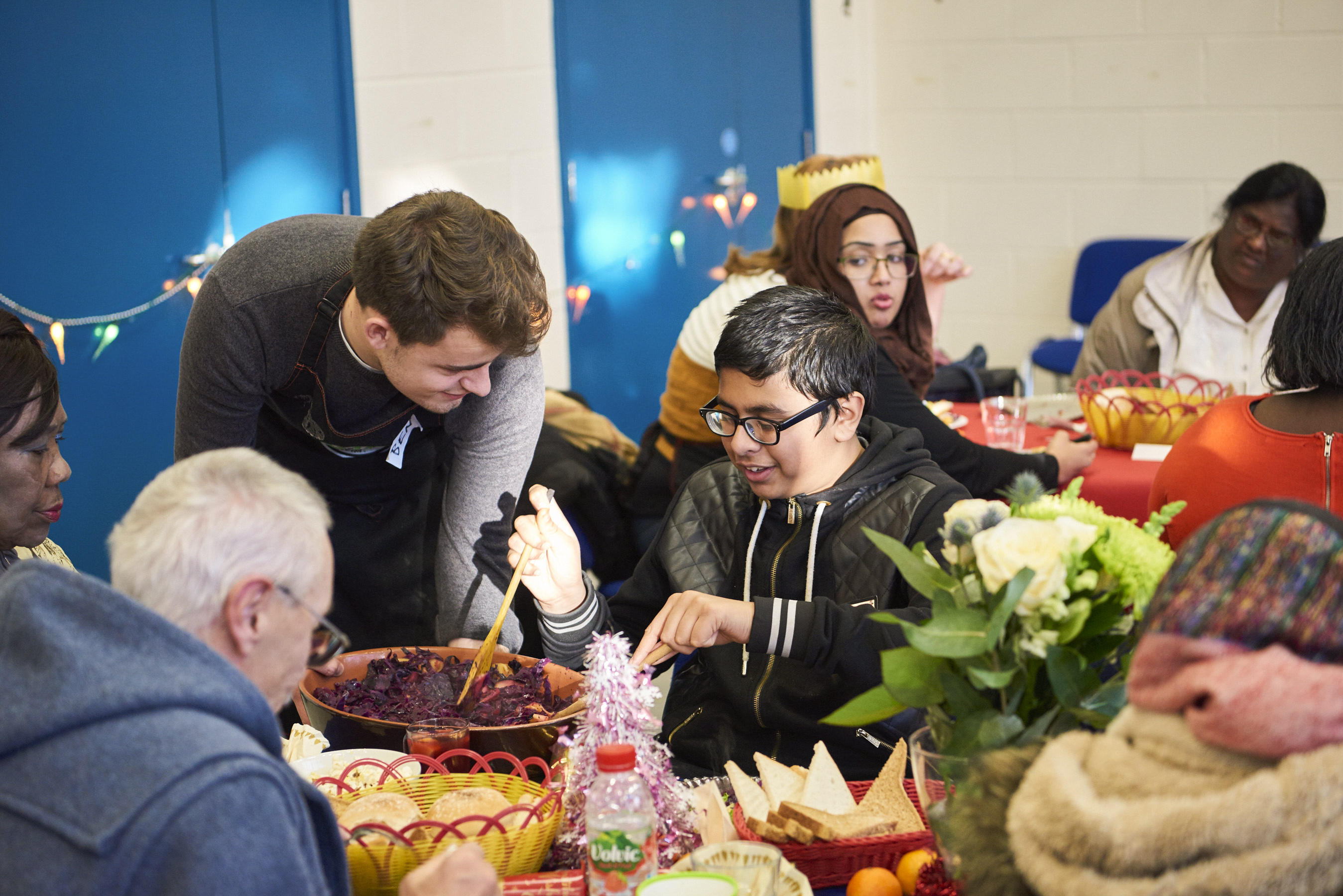 Uniting and nourishing people on the breadline